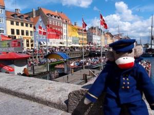Captain Eugene at Nyhavn