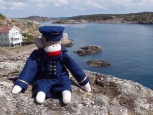 Captain Eugene on Marstrand Island