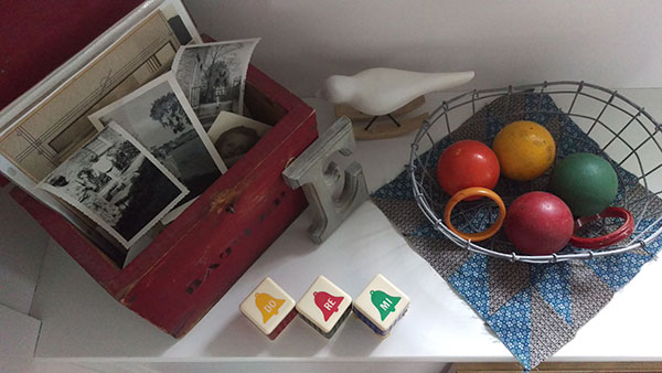 Artifacts and photos for inspiration