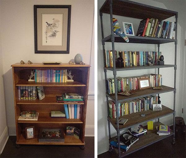 Eileen Beha's bookcases