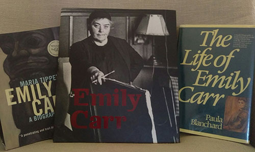 Emily Carr's Books