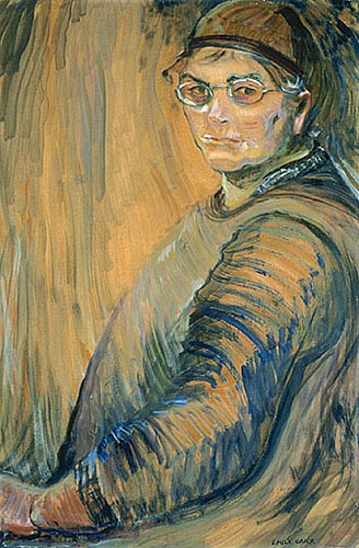 Emily Carr self-portrait