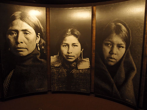 Documentary photo, First Nations Gallery, RBCM, Victoria