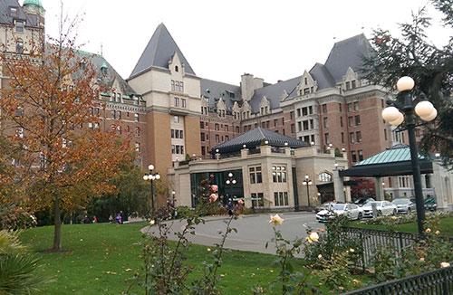 The Fairmont Empress, Victoria, BC