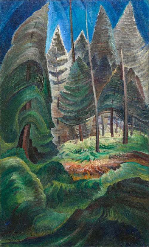 A Rushing Undergrowth, Emily Carr, 1935