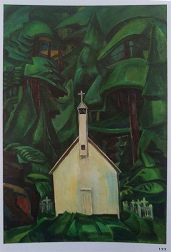 Indian Church, Emily Carr, 1929