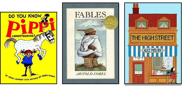 Pippi Longstocking, Fables, The High Street